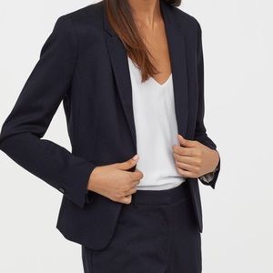 H&M Black Fitted Blazer